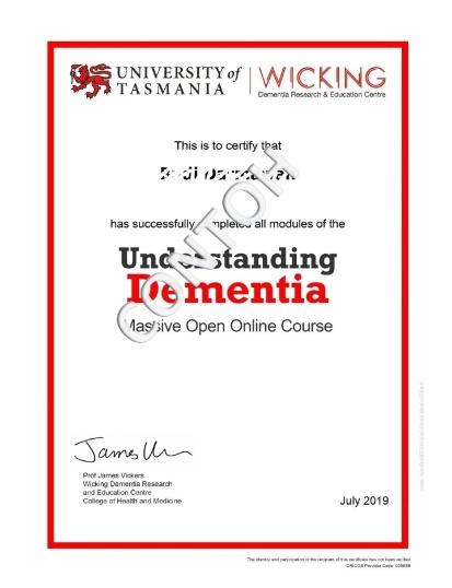 Contoh sertifikat online